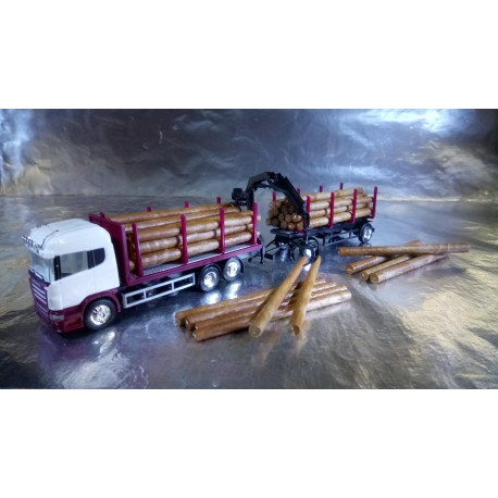 * Herpa Trucks 307383  Scania R HL wood carrier, unprinted