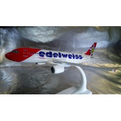 * Herpa Snap Fit 610940  Edelweiss Air Airbus A320 new 2016 colors