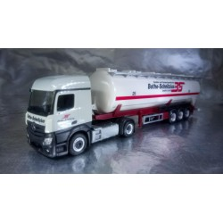 "* Herpa Trucks 306331  Mercedes-Benz Actros Streamspace 2.3 ADR-Silo-Sattelzug ""Bothe-Schnitzius"""