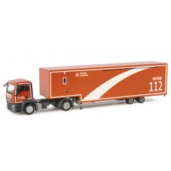 "* Herpa Trucks 156769  MAN TGS M Jumbokoffer-Sattelzug ""MOBAS Berlin fire department"""