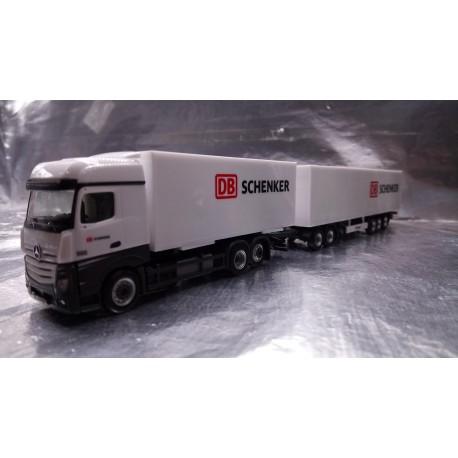 """* Herpa Trucks 307864  Mercedes-Benz Actros Bigspace Eurocombi """"DB Schenker"""""""