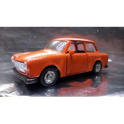 * Welly - Trabant Orange with opening front doors Scale 1:34