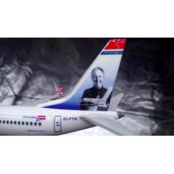 Herpa Wings Snap Fit 611817 Norwegian Air Shuttle 737 MAX 8  EI-FYA Sir Freddie
