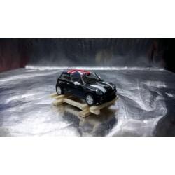 * Herpa / EA 34004WLB Wooden Frame with Black Mini UK Flag Load