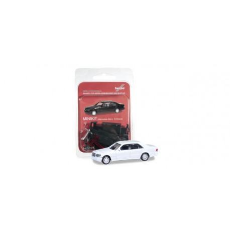 * Herpa Minikit 012751-002  Herpa Mercedes-Benz S-class W 140, white
