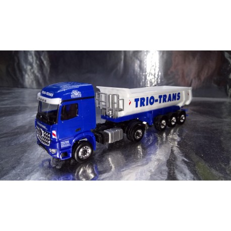 """* Herpa Trucks 306270  Mercedes-Benz Arocs dump semitrailer """"Trio-Trans"""""""
