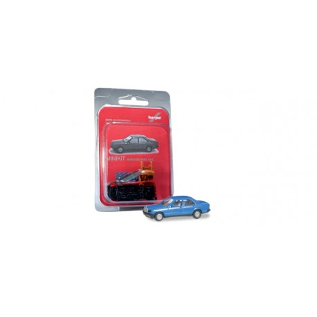 * Herpa Minikit 012409-003  Mercedes-Benz 190 E, traffic blue