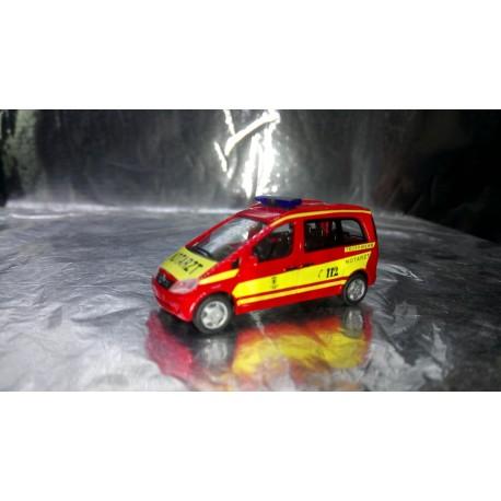 "* Herpa Cars 047937  Mercedes-Benz Vaneo MZF ""Munich fire department"""