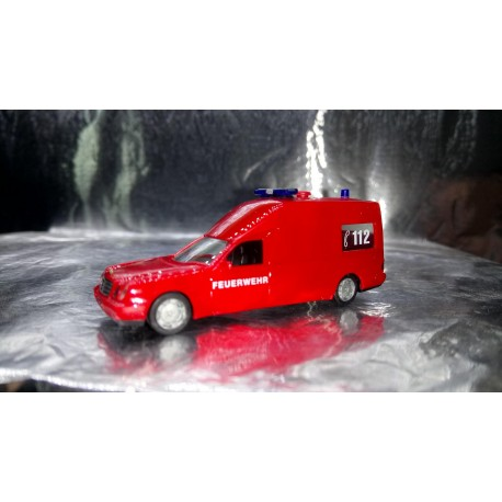 "* Herpa Cars 044912  Mercedes-Benz Binz W210 KTW ""fire department"", red"
