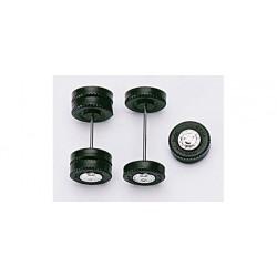 * Herpa Spares 050357  Truck / bus wheel caps, chromium plated