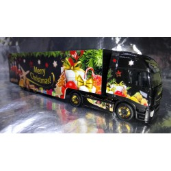 "* Herpa Trucks 308960  Iveco Stralis XP box semitrailer ""Herpa Christmas Truck 2018"""