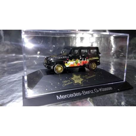 """* Herpa Cars 102124  Mercedes-Benz G-Class """"Herpa Weihnachts-PKW 2018"""""""