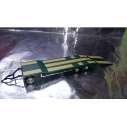 * Herpa 076135-005 Goldhofer TU 3 Construction Site Trailer, Mossy Green 1:87