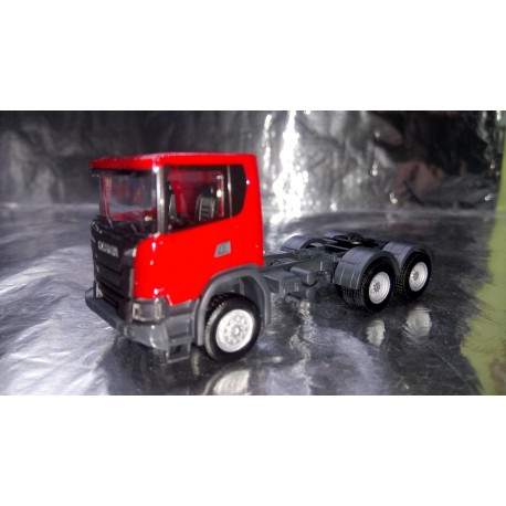 * Herpa Trucks 309752  Scania CG 17 6x6 rigid tractor, red
