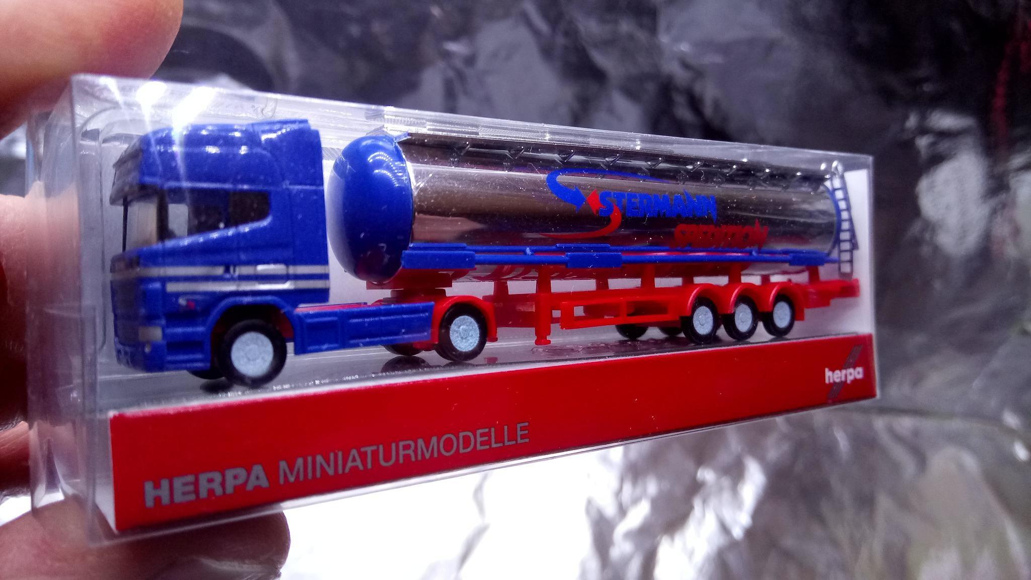scania R hl - - neutral rojo Herpa 580390 szm - sk8 -