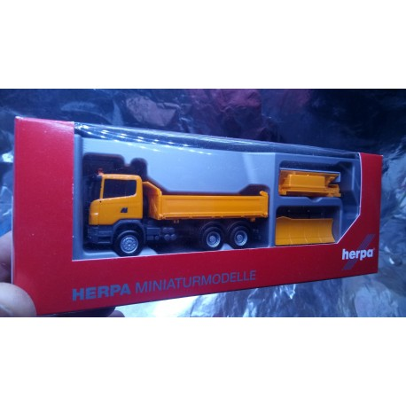 * Herpa Trucks 306492  Scania R `09 winter services
