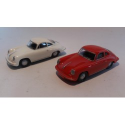 * Herpa Cars (Magic) 452083  Porsche 356 C Coupé 2 cars in pack