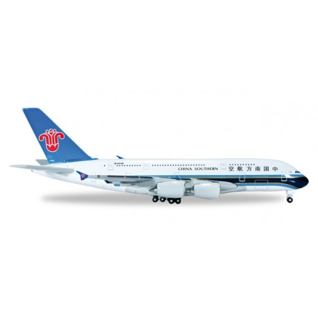 * Herpa Wings 520928-001  China Southern Airlines Airbus A380