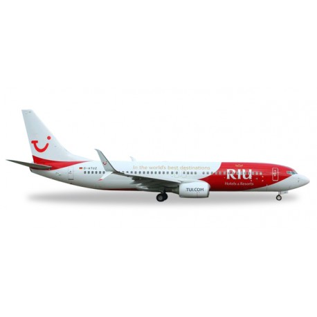 "* Herpa Wings 529402  TUIfly Boeing 737-800 ""RUI Hotels & Resorts"""