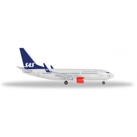 """* Herpa Wings 529419  SAS Scandinavian Airlines Boeing 737-700 """"Lodin Viking"""""""