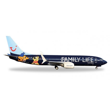 "* Herpa Wings 529433  Jetairfly Boeing 737-800 ""Family Life Hotels"""