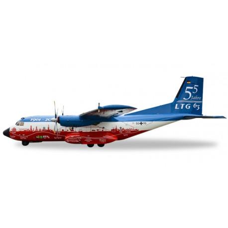 """* Herpa Wings 558068  Luftwaffe Transall C-160 LTG 63 / Air Transport Wing """"55 Years LTG 63 / 60 Years Luftwaffe"""""""