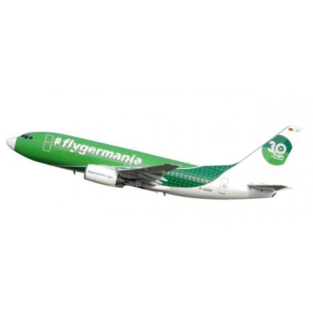 """* Herpa Wings Snapfit 611176  Germania Boeing 737-700 """"30 Years"""""""