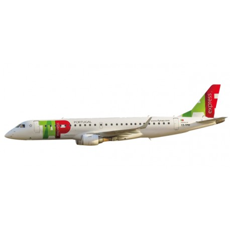 * Herpa Wings Snapfit 611190  TAP Express Embraer E190
