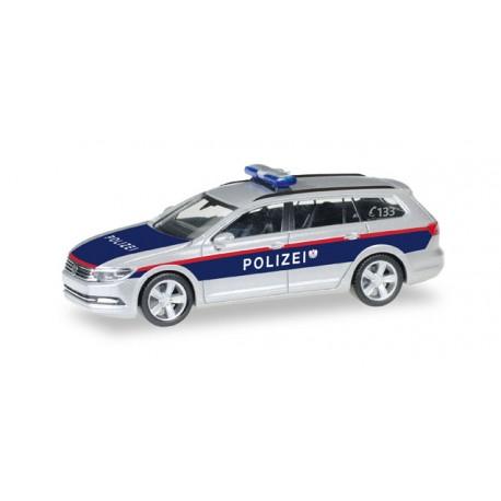 "* Herpa Cars 092609  VW Passat Variant ""Austria Police department"" (A)"