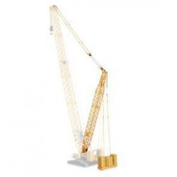 * Herpa Construction 076722  Kit Derrick for crawler crane LR 1600/2, yellow
