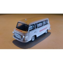 "* Herpa Cars 066433  Barkas B 1000 bus ""patient transport ambulance"""
