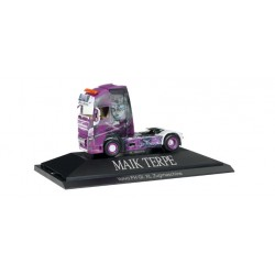 "* Herpa Trucks 110815  Volvo FH Gl. XL Solo-Zugmaschine""Maik Terpe"", PC"