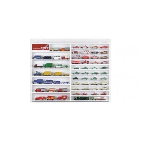 * Herpa Display 029209  Car / van showcase (white)
