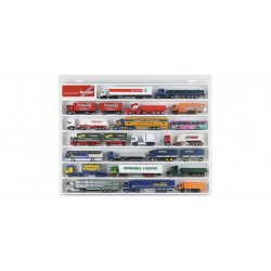 * Herpa Trucks 029216  Truck showcase white, (22.4 in. x 17.7 in. x 1.4 in.)