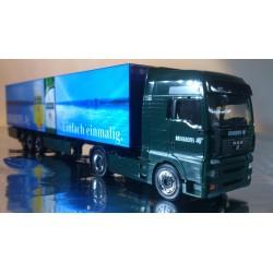 "* Herpa Trucks ? 149174  MAN TGA XXL box semitrailer ""Brinkhoff's No. 1"""