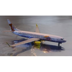 "* Herpa Wings 523400  TUIfly Boeing 737-800 ""100 Jahre Bärenmarke - ÜBärFlieger"""