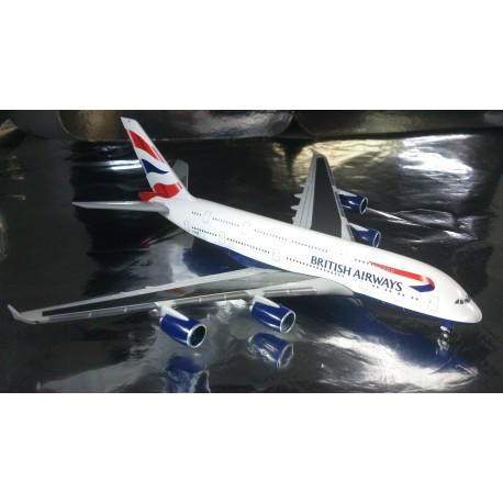 * Herpa Wings 524391-001  British Airways Airbus A380