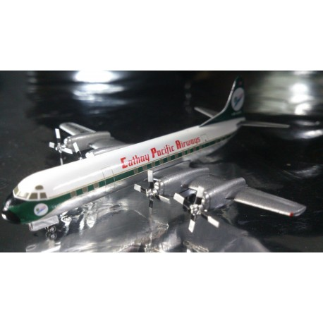 """* Herpa Wings 562034  Cathay Pacific Airways Lockheed L-188A Electra """"60th Anniversary"""""""