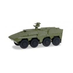 * Herpa Military 745130  GTK Boxer Transportfahrzeug, undecoriert (militärgrün)