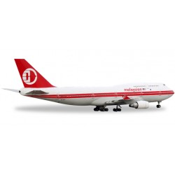 * Herpa Wings 529679  Malaysia Airlines Boeing 747-400 - Retro colors