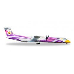 """* Herpa Wings 558136  Nok Air Bombardier Q400 """"Nok Anna"""""""