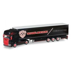 "* Herpa Trucks 306669  Scania R TL curtain canvas semitrailer ""Heinrichs"""