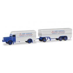"* Herpa Trucks 306638  Büssing 8000 boxtrailer ""Kamphuis"" (NL)"