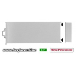 * Herpa Spare Parts 084338  Transport flat for all truck chassis Content: 2 pieces