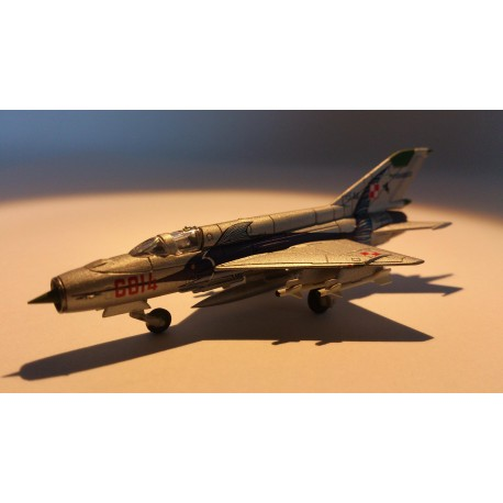 * Herpa Wings 552363  Polish Air Force 3. ELT 45th Anniversary - Mikoyan MiG-21MF